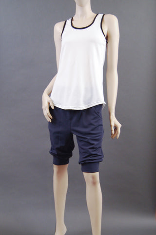 Unisex Brushed Back Stretch Short