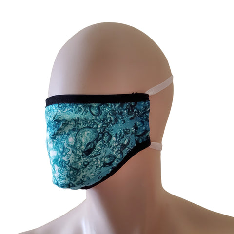 Fabric Face Mask - Bubbles