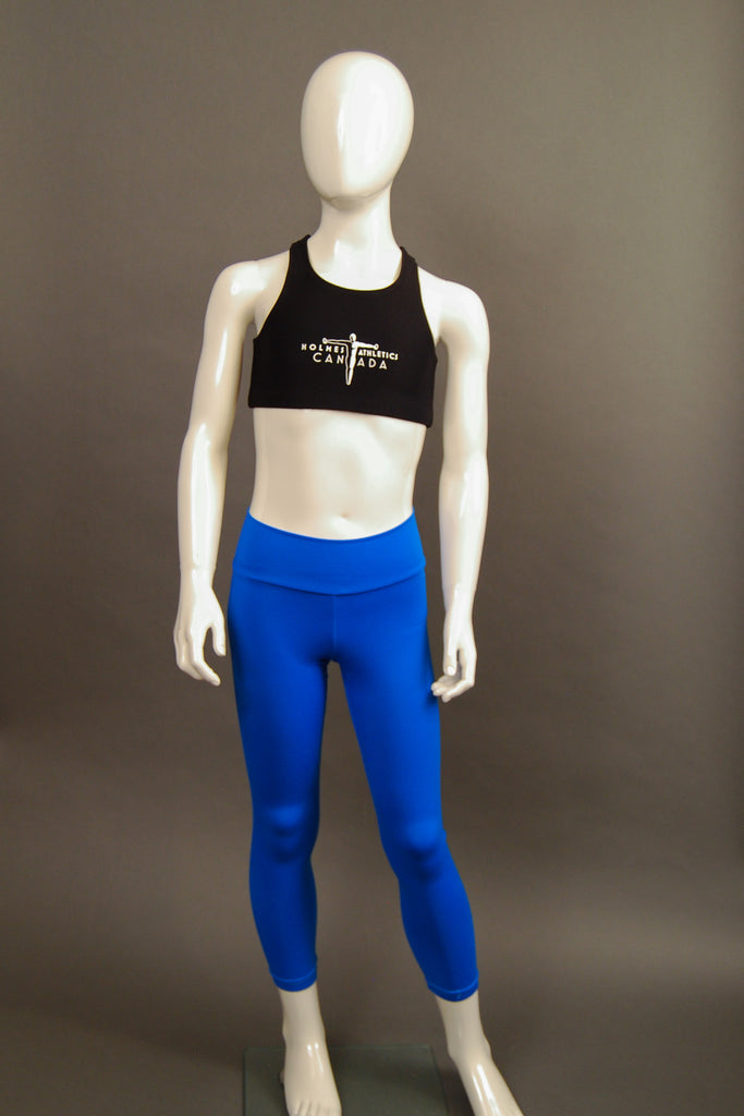 Child Sized Mira Tight in Bright Blue Front View
