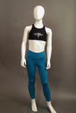Child Sized Mira Tight in Teal Front View