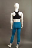 Child Sized Mira Tight in Teal Rear View
