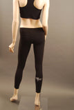 HAC Holmes Athletics Canada Black Emma Workout Tight Back