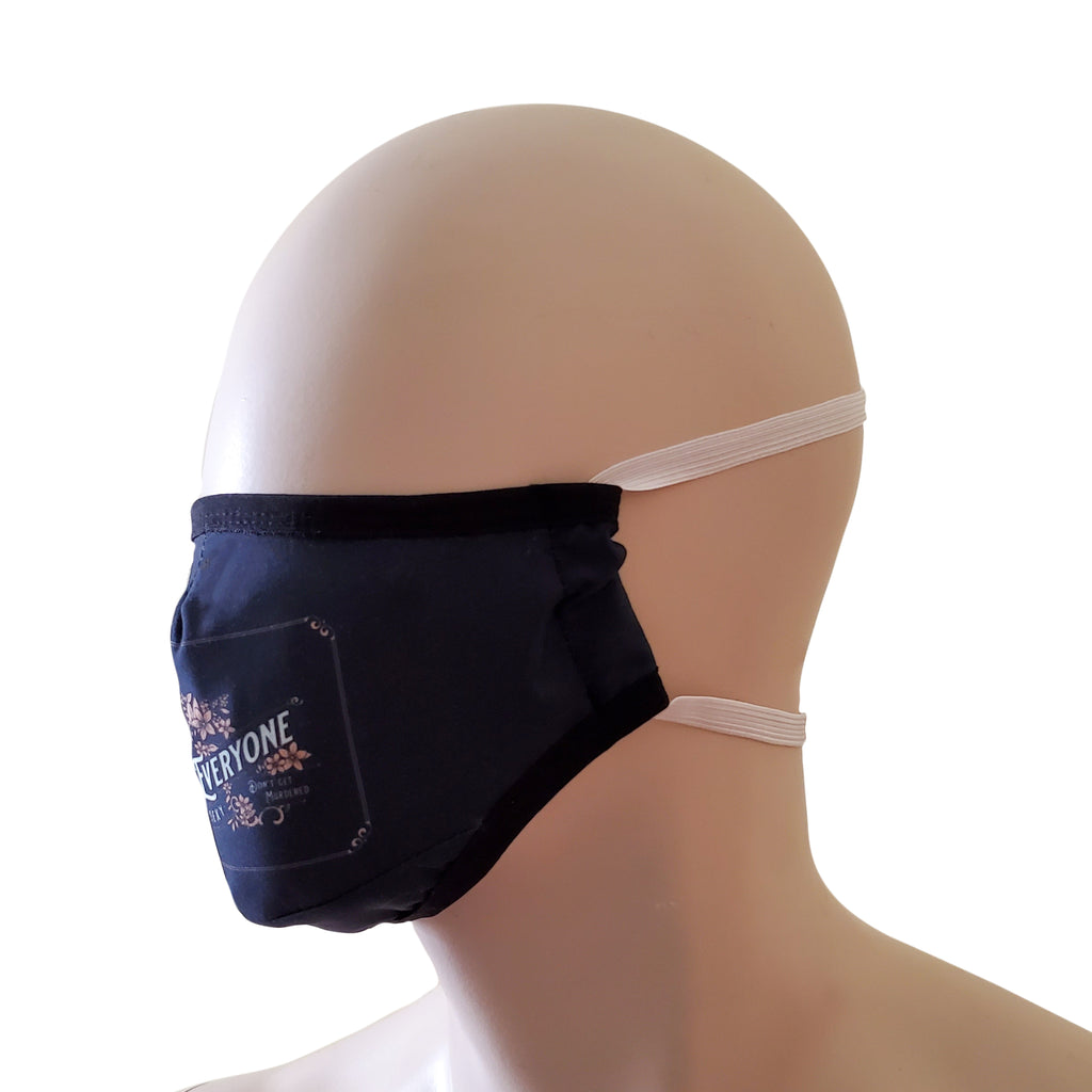 Fabric Face Mask - Here's The Thing