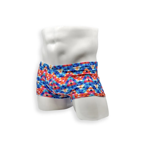Box Cut Swim Trunk - Mosiac