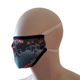 Fabric Face Mask - Virus