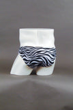 "HAC Swim Men's 2"" Side Swim Brief - Zebra Back"