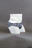"HAC Swim Men's 2"" Side Swim Brief - Zebra Side"