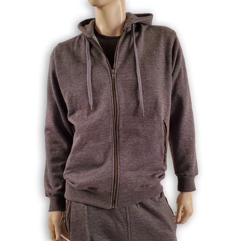 Zippered Pocket Hoodie