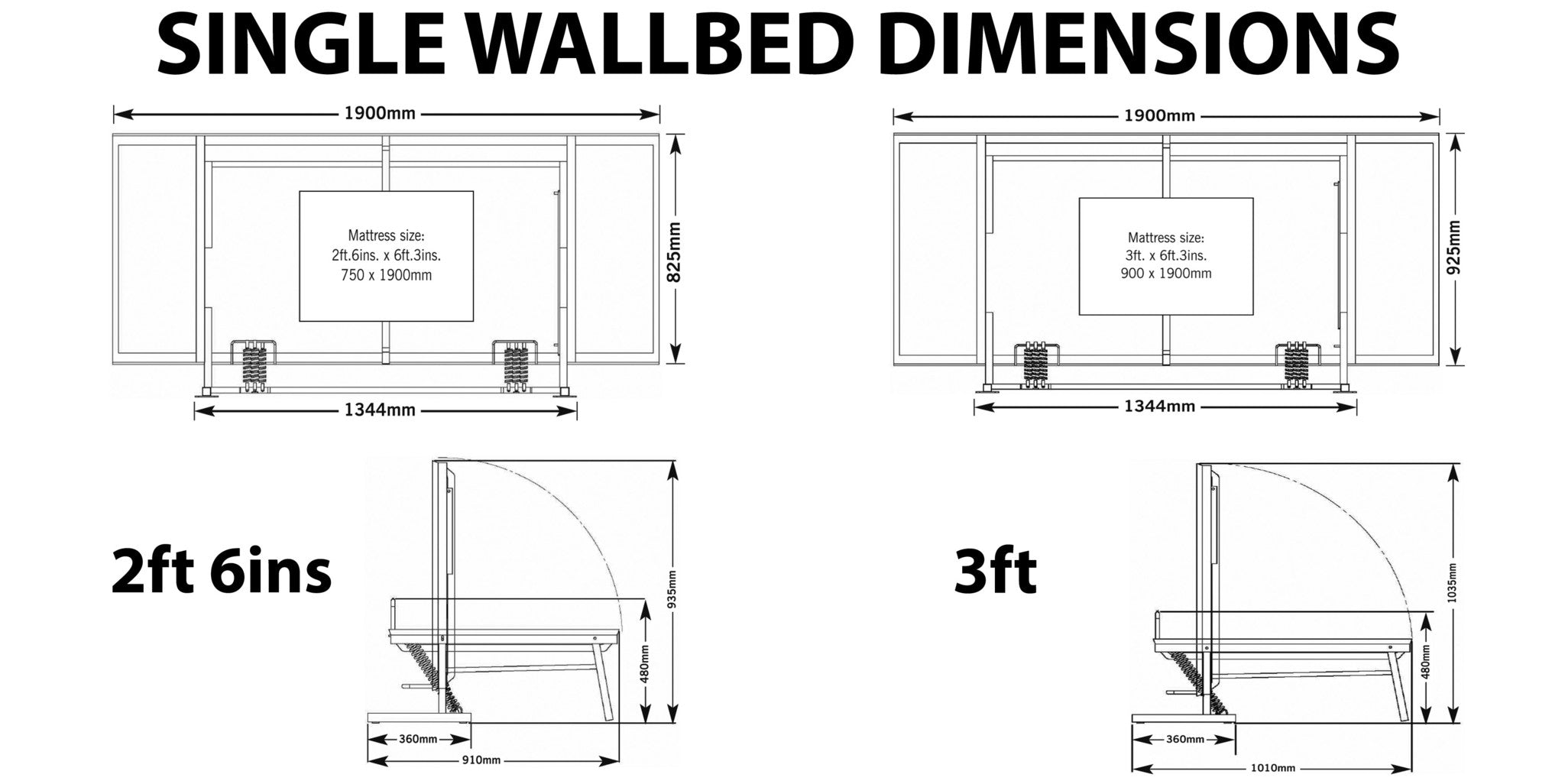 Wall bed wiskaway king horizontal wall beds direct uk click the image below to enlarge wall bed wall beds wall beds uk pull down bed fold away ccuart Gallery
