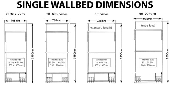Wall Bed Pull Down Bed Vertical Wall Beds Direct Uk