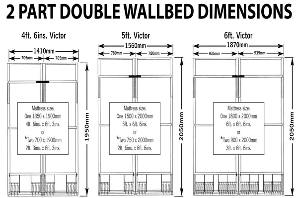 Wall Bed Pull Down Bed Vertical