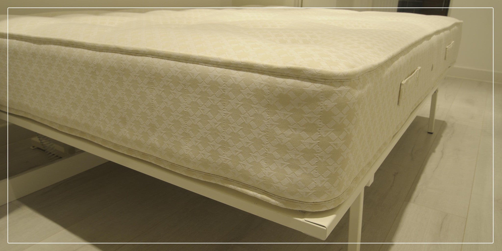 click the image below to enlarge luxury wall bed hotel quality interior sprung mattresses