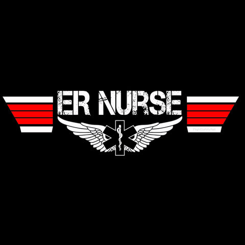 Emergency Room (ER) Nurse T-shirts and Gear at EMS Flight Safety Network