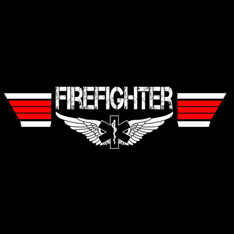 Firefighter T-shirt Design at EMS Flight Safety Network