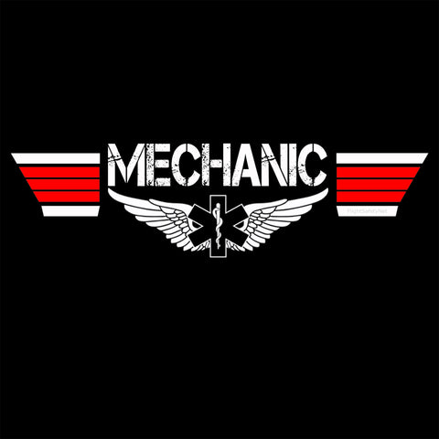 Top EMS Mechanic T-shirt Design at EMS Flight Safety Network