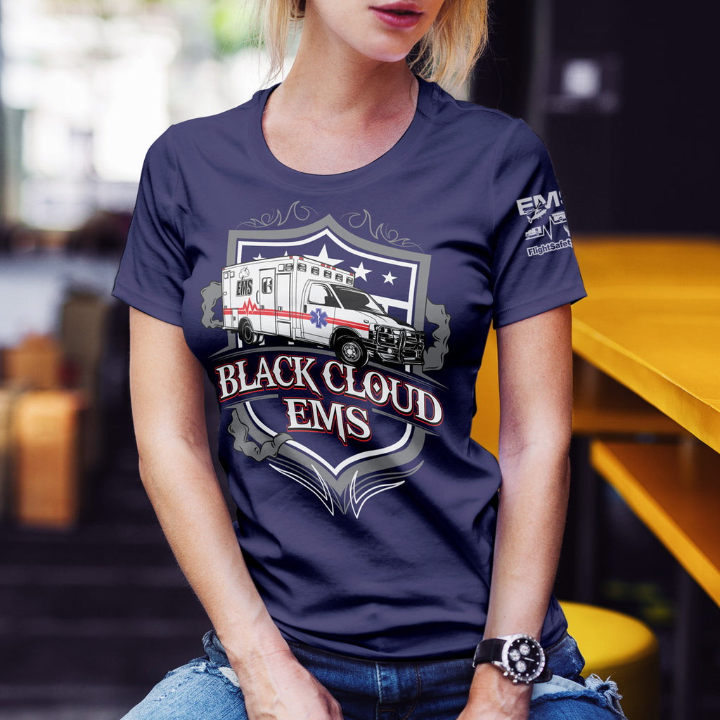 Black Cloud EMS Short-Sleeve Unisex T-Shirt