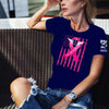 Image of Fly-Like-A-Girl Breast Cancer Awareness Gildan Ultra Cotton Unisex T-Shirt