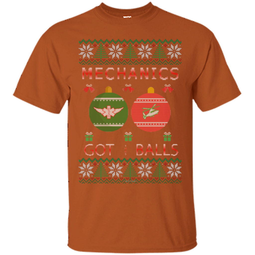 Mechanics Got Balls Ugly Sweater Gildan Unisex Ultra Cotton T-Shirt