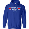 Image of Veteran EMS Wings Heavyweight Pullover Hoodie 8 oz