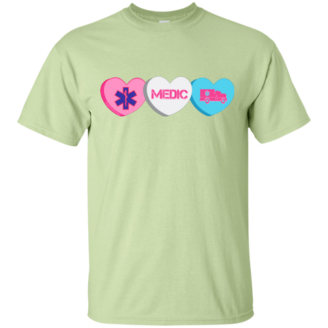 Medic Candy Hearts Gildan Unisex Ultra Cotton T-Shirt