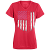 Image of American Firefighter Pride Augusta Ladies' Wicking T-Shirt