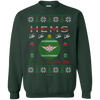 Image of HEMS Ugly Sweater Gildan Crewneck Pullover Sweatshirt  8 oz.