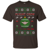Image of Flight Crew Ugly Sweater Gildan Unisex Ultra Cotton T-Shirt