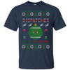 Image of Dispatcher Ugly Sweater Gildan Unisex Ultra Cotton T-Shirt
