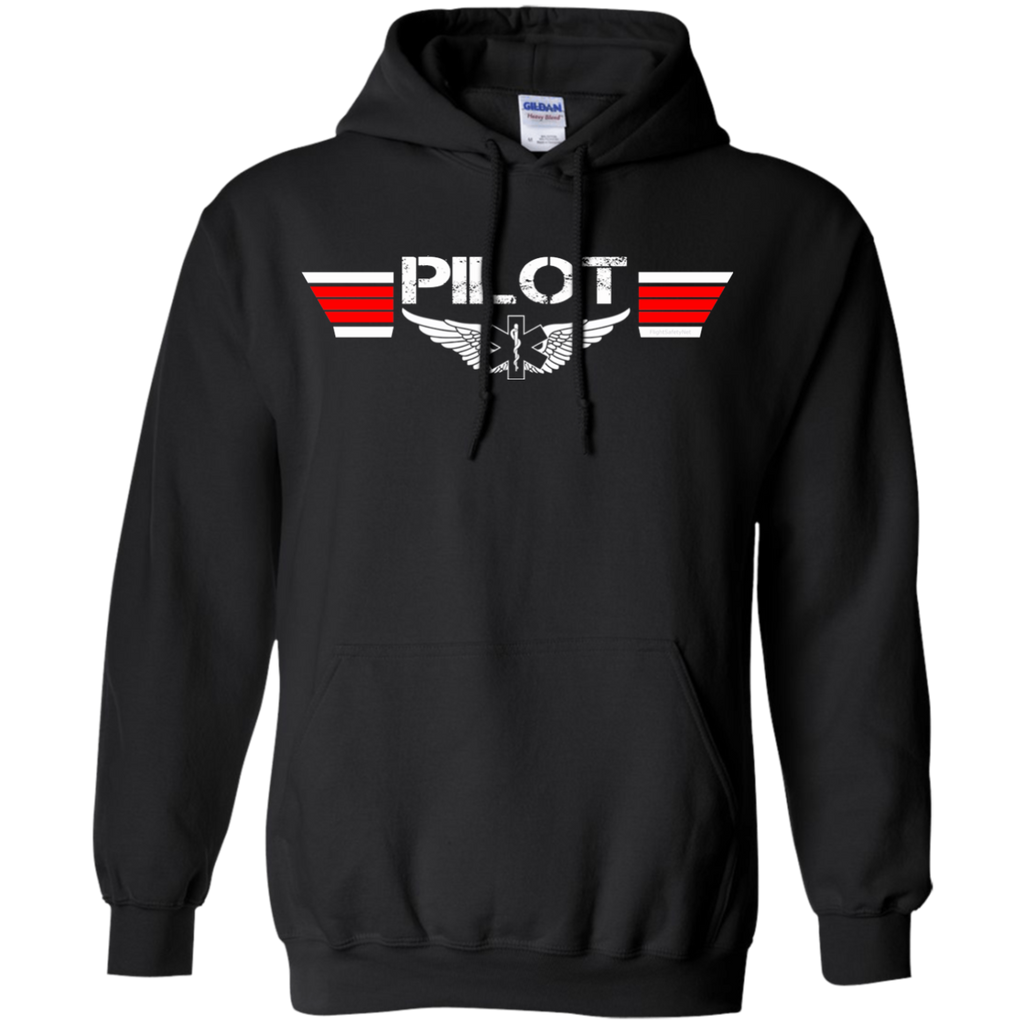 EMS Pilot Wings Heavyweight Pullover Hoodie 8 oz