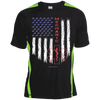 Image of Mechanic Pride Sport-Tek Colorblock Dry Zone Crew