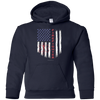 Image of American Firefighter Pride Gildan Youth Pullover Hoodie