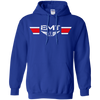 Image of EMT Wings Heavyweight Pullover Hoodie 8 oz