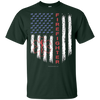 Image of American Firefighter Pride Gildan Youth Ultra Cotton T-Shirt