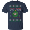 Image of Flight Nurse Ugly Sweater Gildan Unisex Ultra Cotton T-Shirt