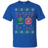 Image of Nurses Got Balls Ugly Sweater Gildan Unisex Ultra Cotton T-Shirt