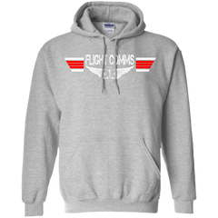 Flight Communications Wings Heavyweight Pullover Hoodie 8 oz