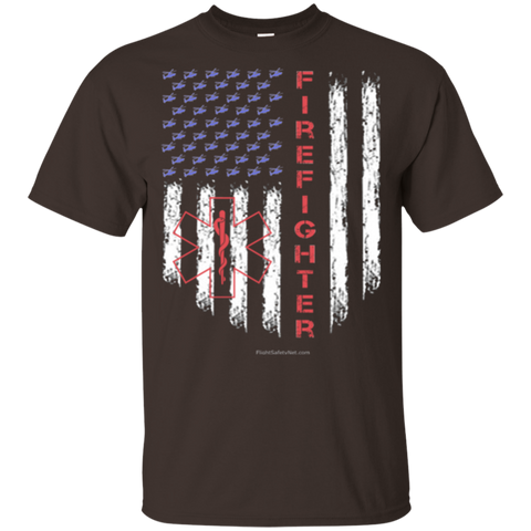 American Firefighter Pride Gildan Youth Ultra Cotton T-Shirt