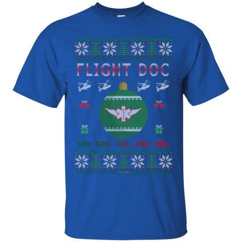 Flight Doc Ugly Sweater Gildan Unisex Ultra Cotton T-Shirt