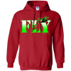 Image of Fly EMS Helicopters Heavyweight Pullover Hoodie 8 oz
