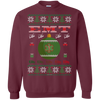 Image of EMT Ugly Sweater Gildan Crewneck Pullover Sweatshirt  8 oz.