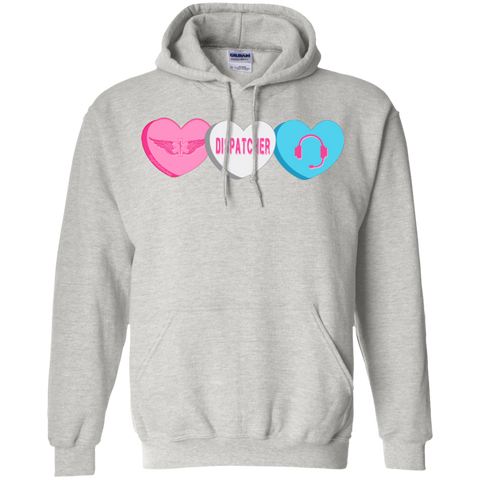 Dispatcher Candy Hearts Gildan Unisex Pullover Hoodie 8 oz.