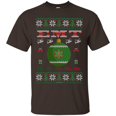 EMT Ugly Sweater Gildan Unisex Ultra Cotton T-Shirt