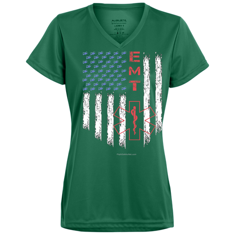 EMT Pride Augusta Ladies' Wicking T-Shirt