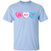 Image of RRT Candy Hearts Gildan Unisex Ultra Cotton T-Shirt