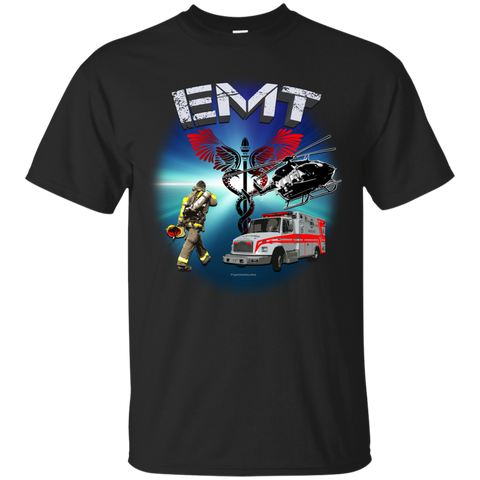 EMT Scene Call Gildan Ultra Cotton Unisex T-Shirt