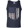 Image of American Firefighter Pride Gildan 100% Cotton Tank Top