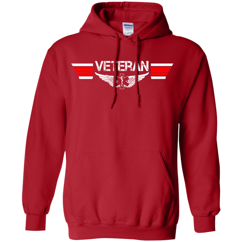 Veteran EMS Wings Heavyweight Pullover Hoodie 8 oz