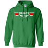 Image of Trauma Doctor EMS Wings Heavyweight Pullover Hoodie 8 oz