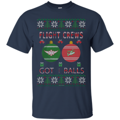 Flight Crews Got Balls Ugly Sweater Bundle