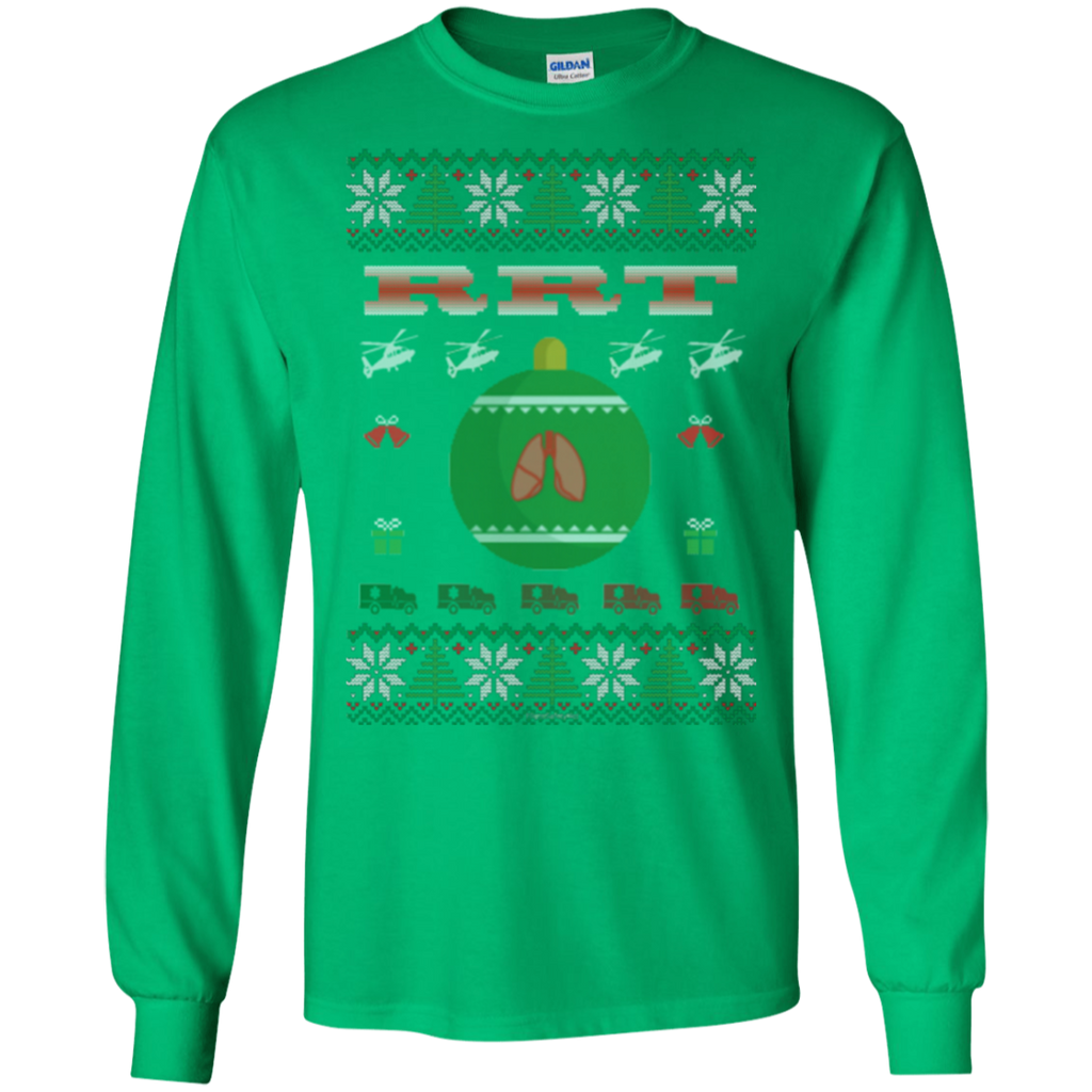 RRT Ugly Sweater Gildan Unisex LS Ultra Cotton T-Shirt